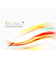 Blurred wave motion vector image