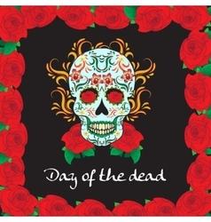 Day of the dead a mexican festival dia de los vector