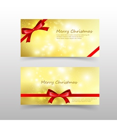 004 Christmas card template for invitation and vector image