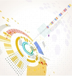 Abstract futuristic business background vector image