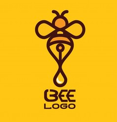 BEE LOGO 6 vector