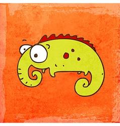 Chameleon Cartoon vector