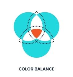 Color balance vector