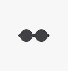 Eyeglasses icon isolated on white background vector