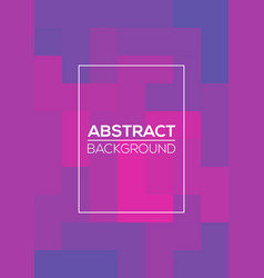 modern futuristic abstract geometric cover vector image