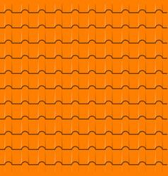 Rotiles seamless pattern yellow shingles vector