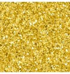 Golden glitter seamless pattern vector image
