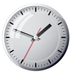 Wall mounted digital clock vector