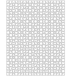 Big puzzle vector