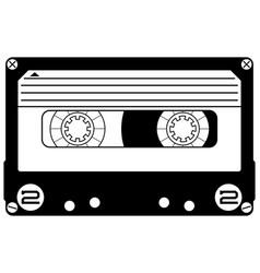 Cassette mixtape vector