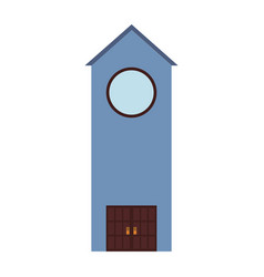 church tower icon vector image