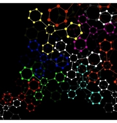 Colorful molecule DNA vector
