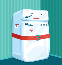 Fat Fridge vector image