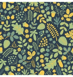 Forest pattern 5 vector