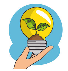 Green eco concept vector