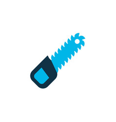 sawing icon colored symbol premium quality vector image