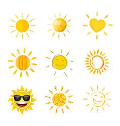 Sun compilation vector