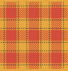 tartan fall seamless pattern plaid vector image