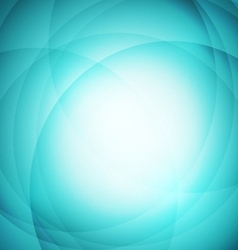 Abstract green background with circle vector image vector image