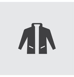 Jacket icon vector image