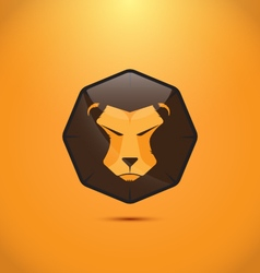 Lion modern logo design vector image vector image