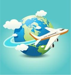 Travel Icon vector image vector image