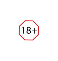 18 icon symbol vector