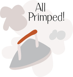 All Primped vector image