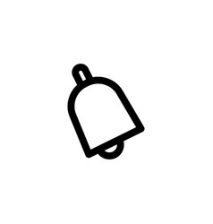 bell ring icon vector image