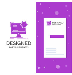 business logo for internet layout page site vector image
