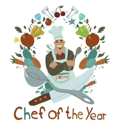 Chef of the Year vector