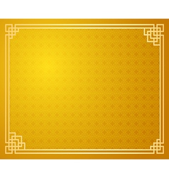 Chinese template 5 vector image