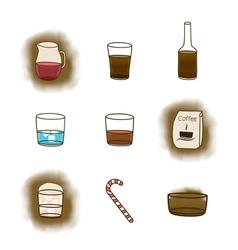 Coffee icon3 vector image