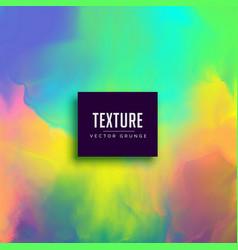 colorful watercolor paint texture effect vector image