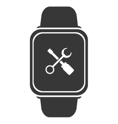 smart watch icon vector image