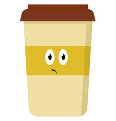 Starbucks on white background vector