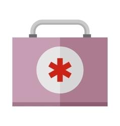 Basic car emergency kit first help equipment vector image
