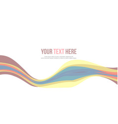 Abstract header website design style vector