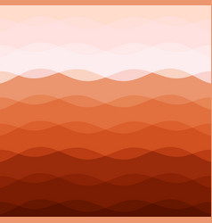 abstract red tone background with curve lines vector image