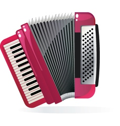 Accordion vector