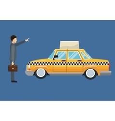 Cab car passenger user service public vector