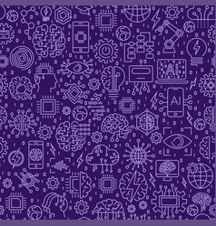 Line seamless pattern vector