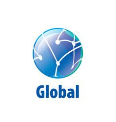Logo globe vector