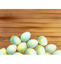 Painted Easter eggs EPS 10 vector