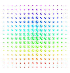 Prenatal shape halftone spectrum pattern vector