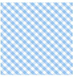 Seamless blue plaid pattern vector