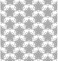 Subtle geometric ornament seamless pattern vector
