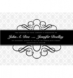 Middle border and pattern vector