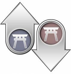 shinto vector image vector image