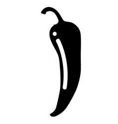 Chili pepper bell pepper vector